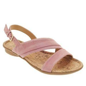 NIB Naturalizer Wyn pink sandals. Size 8 1/2N